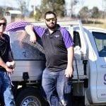 garden master septic team on site